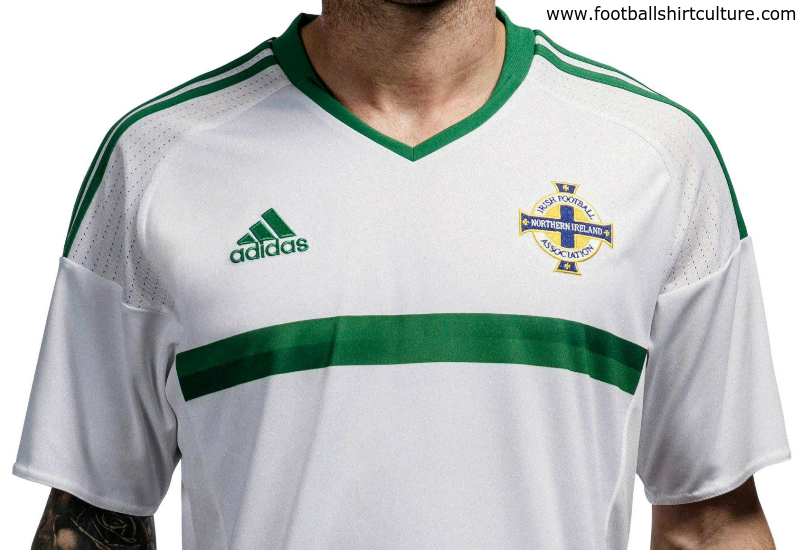 Northern Ireland Euro 2016 Adidas Away Football Shirt