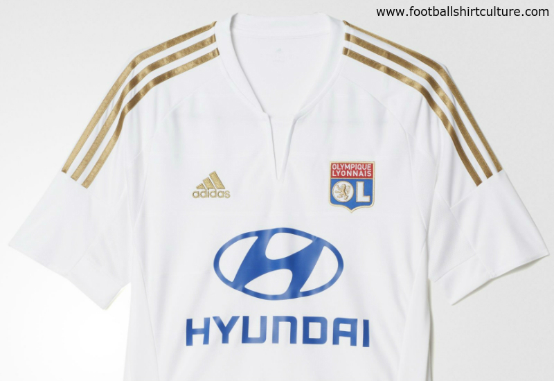 Olympique Lyon 15 16 Adidas Third Football Shirt