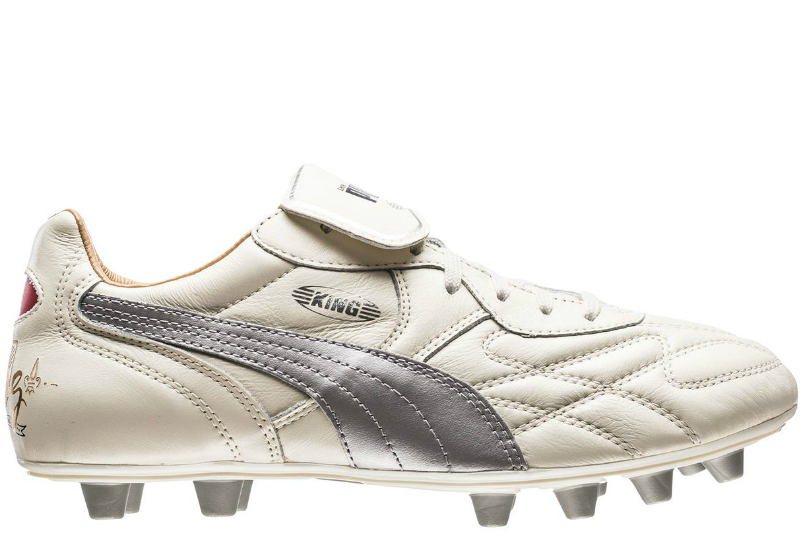Puma King Top City Di Lyon Fg Whisper White Puma Silver