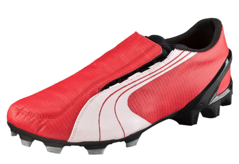 Puma V1 06 10th Anniversary Fg Football Boots Puma Red White Black