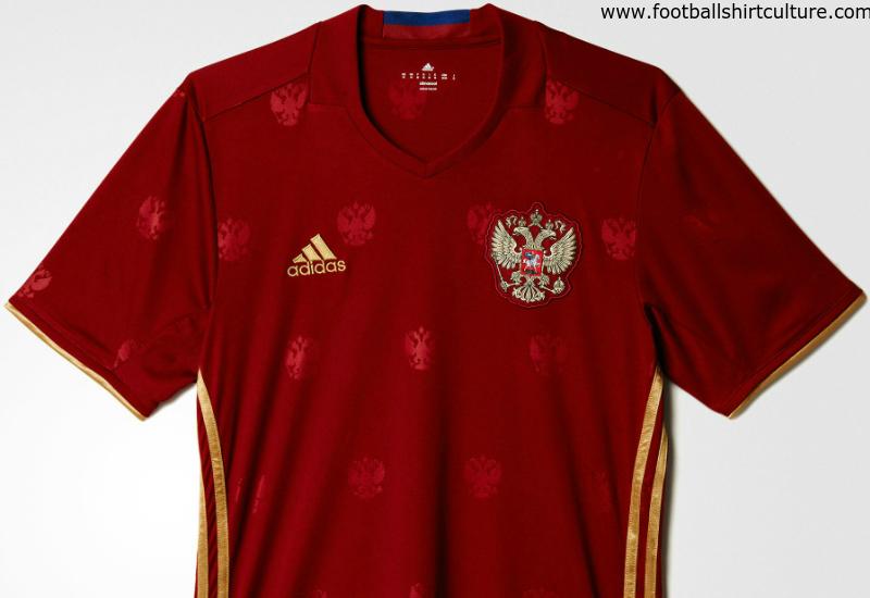 a7109191 Russia Euro 2016 Adidas Home Kit | 15/16 Kits | Football shirt blog