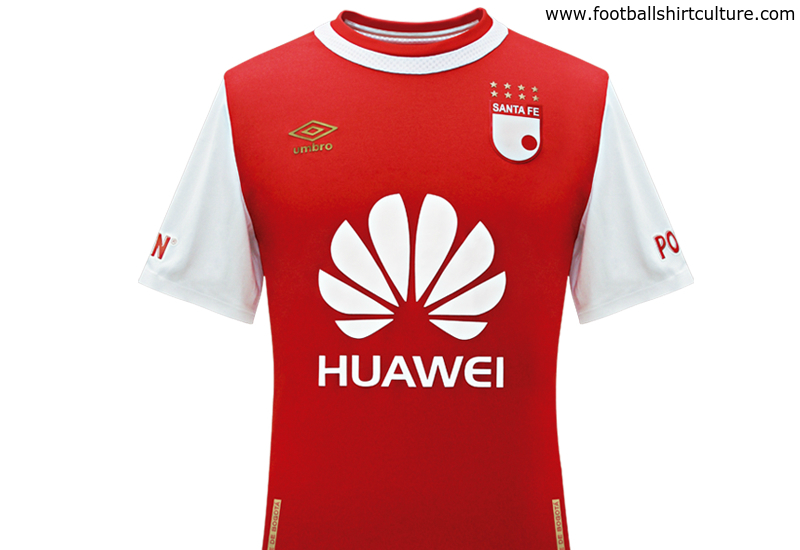 Santa Fe 2016 Umbro Home Football Shirt  6f432d0aa