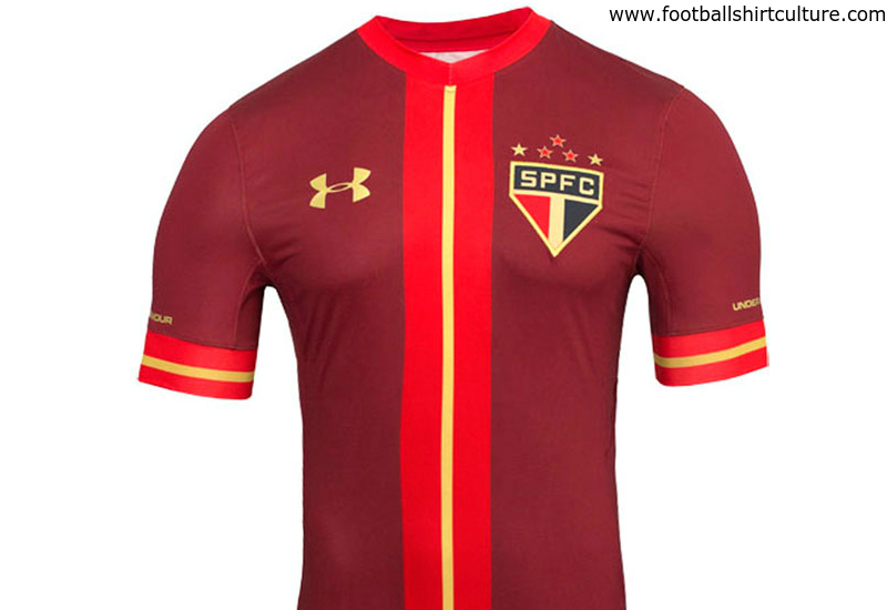 Sao Paulo 2015 2016 Under Armour Third Football Shirt