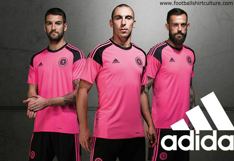 Scotland 2016 Adidas Away Football Shirt