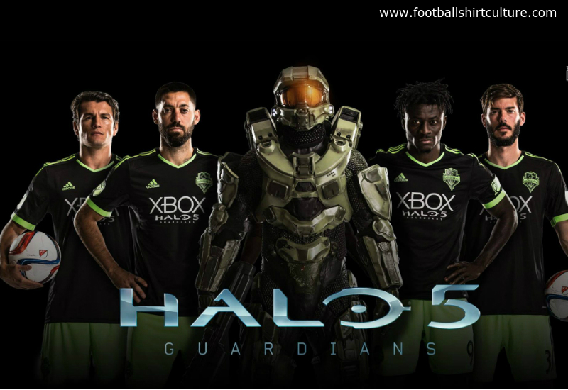 Seattle Sounders 2015 Adidas Halo 5 Guardians Kit