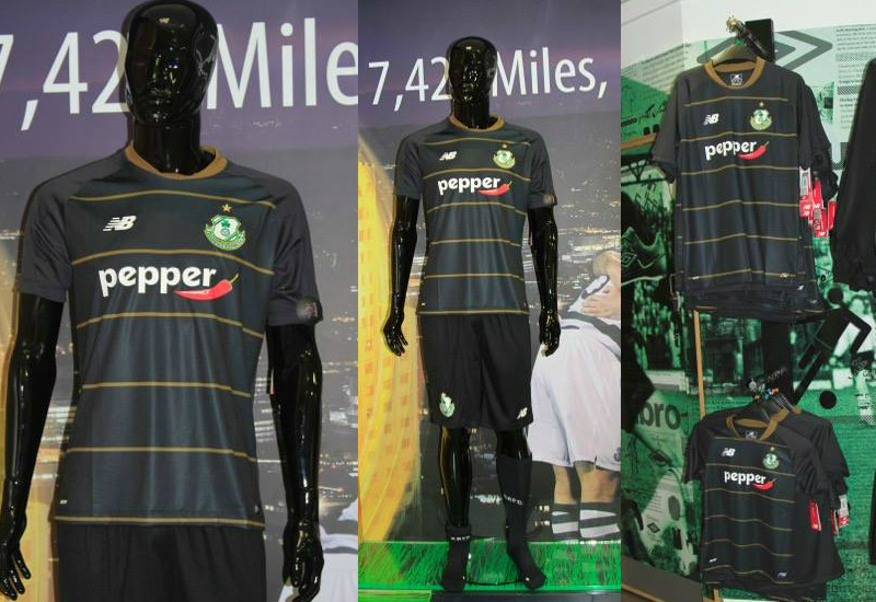 Shamrock Rovers 2016 2017 New Balance Away Kit