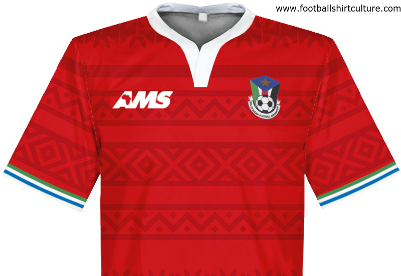 South Sudan 2015 2016 Ams Away Football Shirt