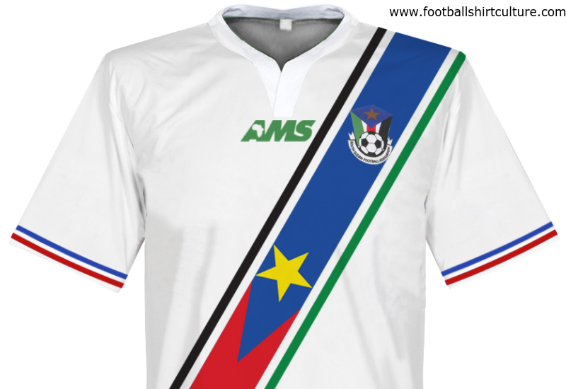 South Sudan 2015 2016 Ams Home Shirt