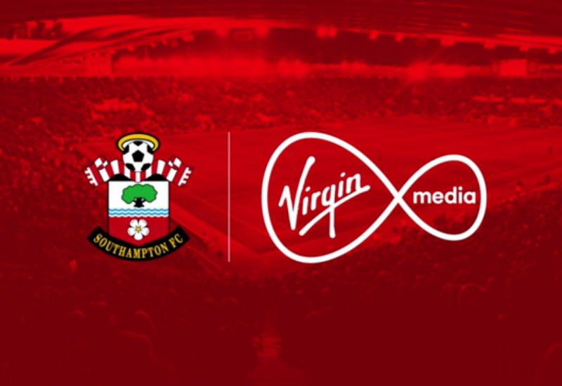 Southampton Announce Virgin Media Shirt Sponsorship Deal