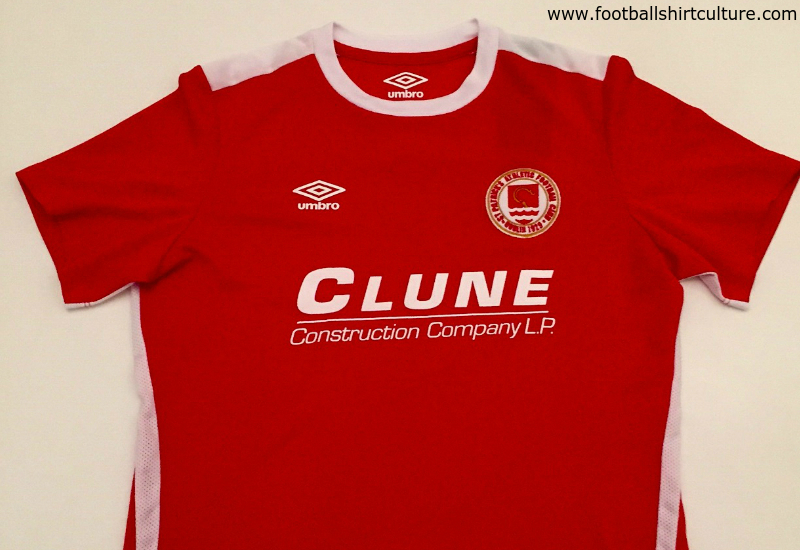 St Patricks Athletic Fc 2016 Umbro Home Football Shirt