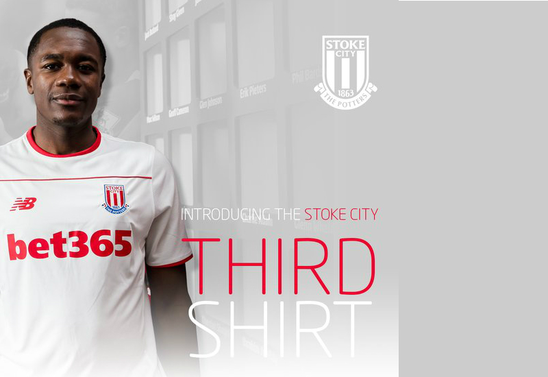 Stoke City 15 16 New Balance Third Kit