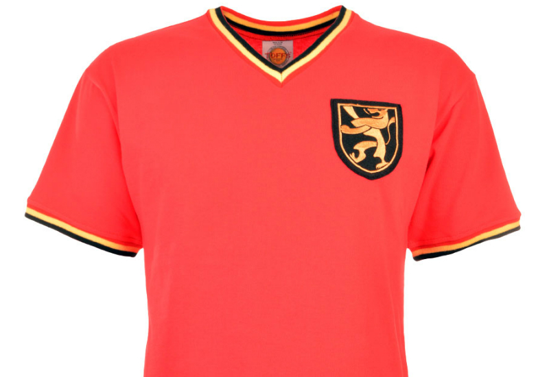 Toffs Belgium 1970 Home Retro Football Shirt