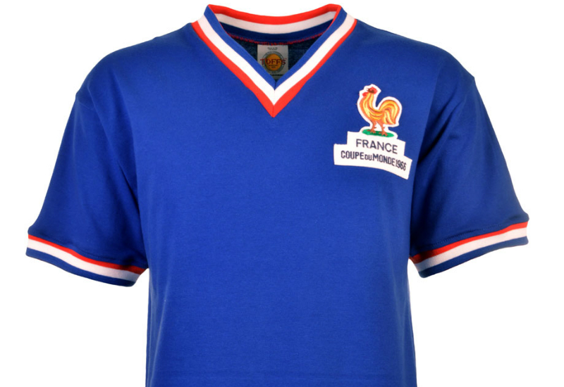 Toffs France 1966 World Cup Retro Football Shirt