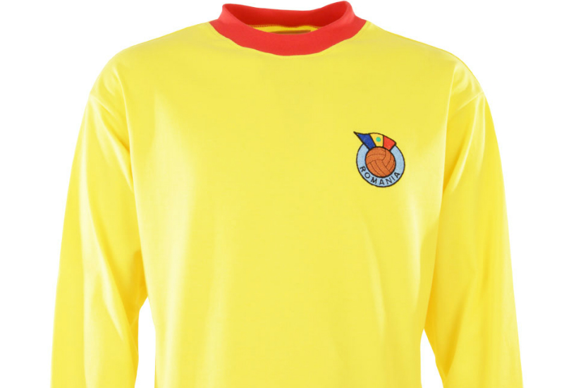 Toffs Romania 1960s Retro Football Shirt