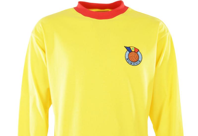 198f8b874 TOFFS Romania 1960s Retro Football Shirt