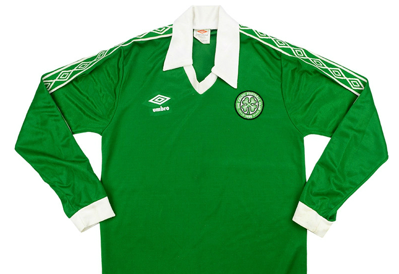 huge discount 92c0b f212b Umbro 1978-82 Celtic Away Shirt | Vintage Football Shirts ...
