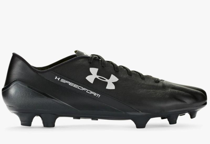 ffc1f451d159 Under Armour SpeedForm CRM LTHR Football Boots - Black   Graphite