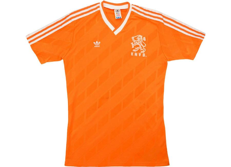 a95c6e4e7e4 Adidas 1988 Holland Match Worn Home Shirt