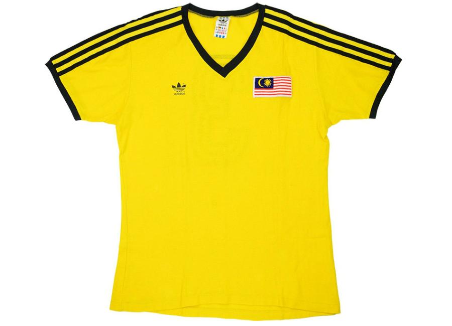 67571ae4232 Adidas 1989-91 Malaysia Match Issue Home Shirt | Vintage Football ...