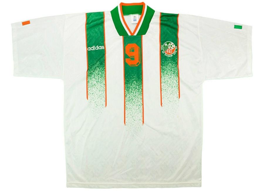 b50fde3f74aff Adidas 1994 Ireland Match Issue World Cup Away Shirt   Vintage ...