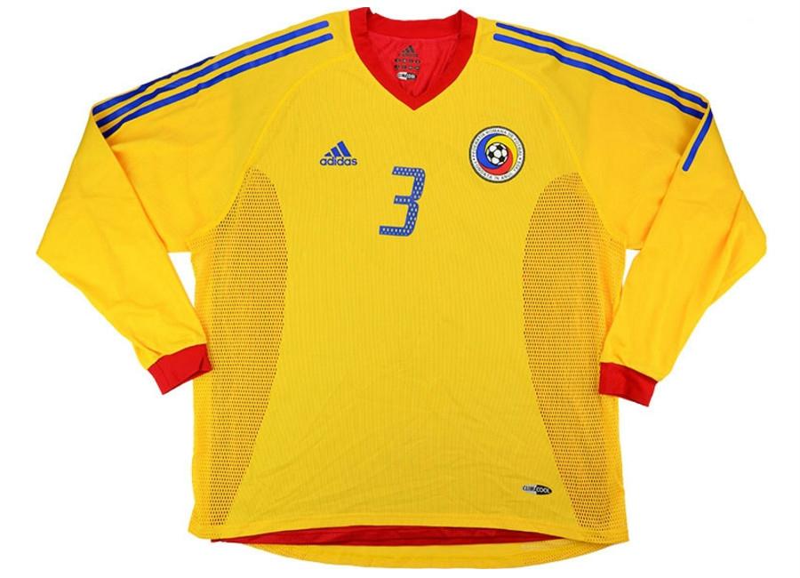 Adidas 2003 Romania Match Issue Home Shirt  5ae7374e197b