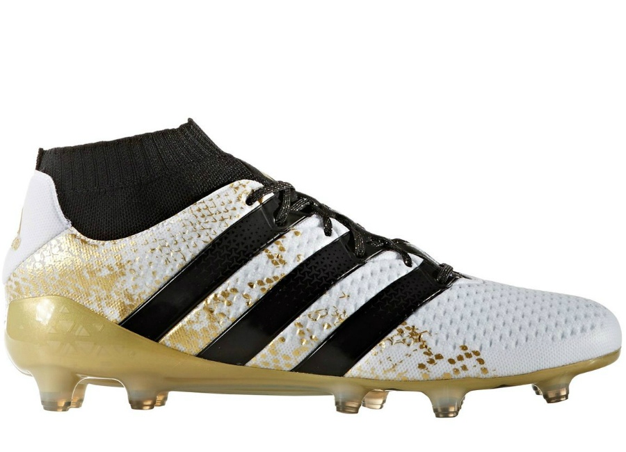 Adidas Ace 16 1 Primeknit Fg Ag Stellar Pack White Core Black Gold Metallic