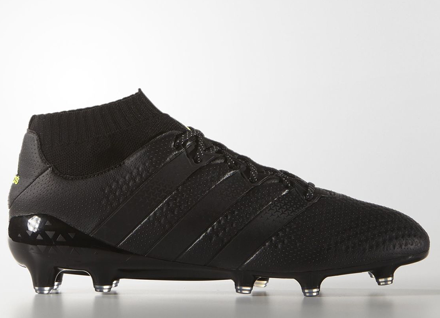 Adidas Ace 16 1 Primeknit Firm Ground Boots Dark Space Pack Core Black Core Black