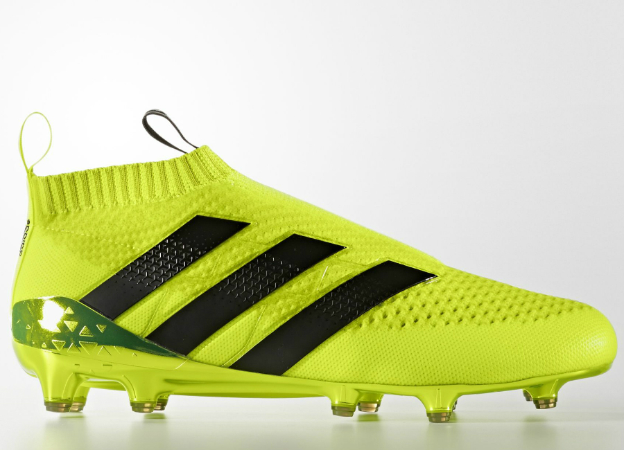 first rate 71f2d c29d3 ... netherlands adidas ace 16 purecontrol primeknit firm ground boots speed  of light pack solar yellow core