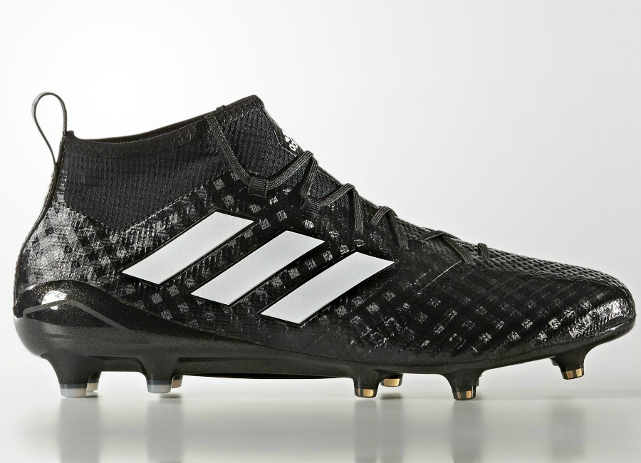 Adidas Ace 17 1 Primeknit Firm Ground Boots Chequered Black Core Black Footwear White Night Metallic