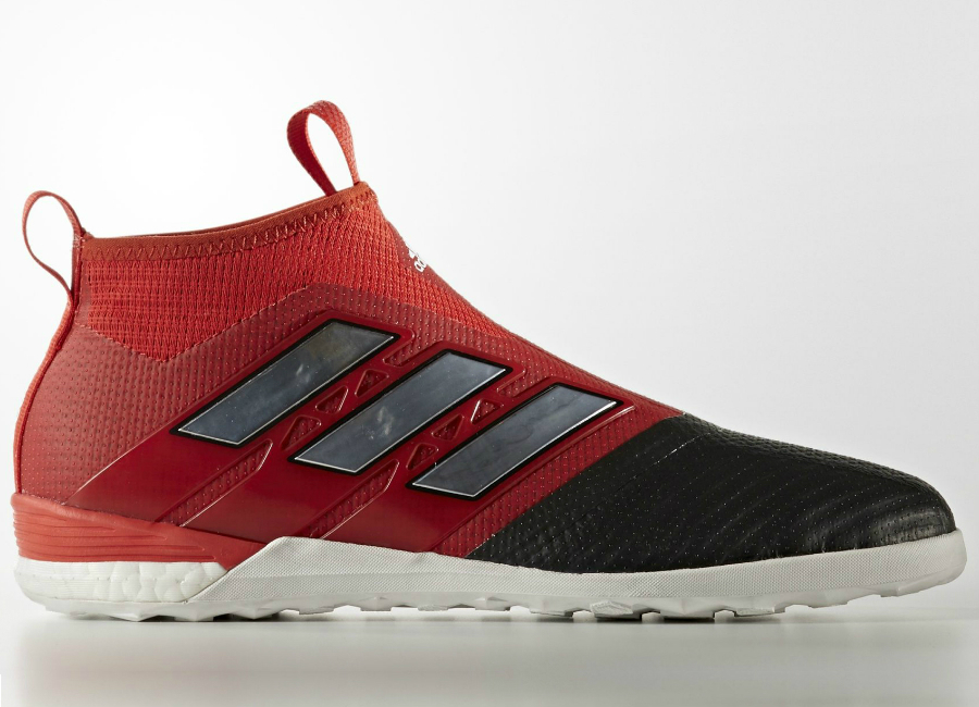 Adidas Ace Tango 17 Purecontrol Indoor Boots Red Footwear White Core Black