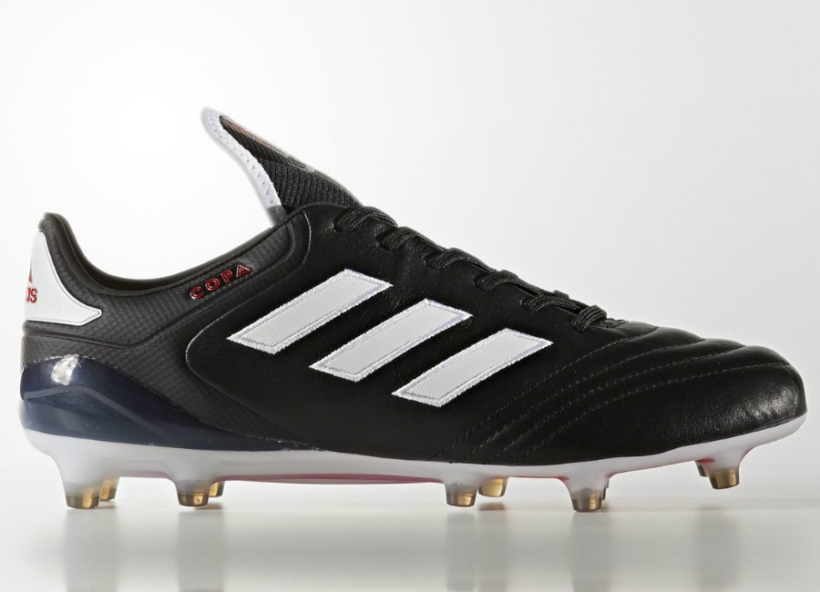 Adidas Copa 17 1 Firm Ground Boots Chequered Black Core Black Footwear White Red
