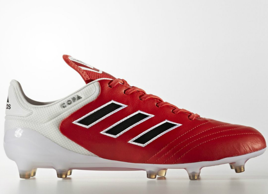 Adidas Copa 17 1 Firm Ground Boots Red Core Black White