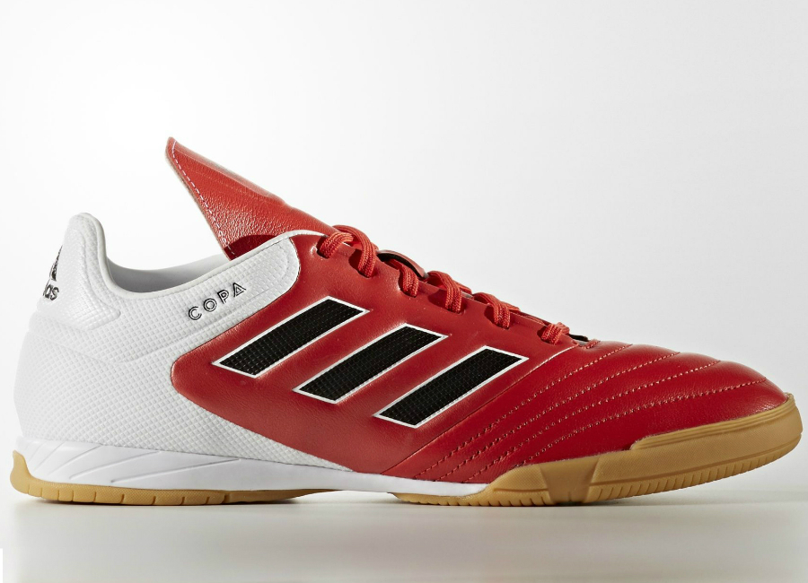 Adidas Copa 17 3 Indoor Boots Red Core Black Footwear White