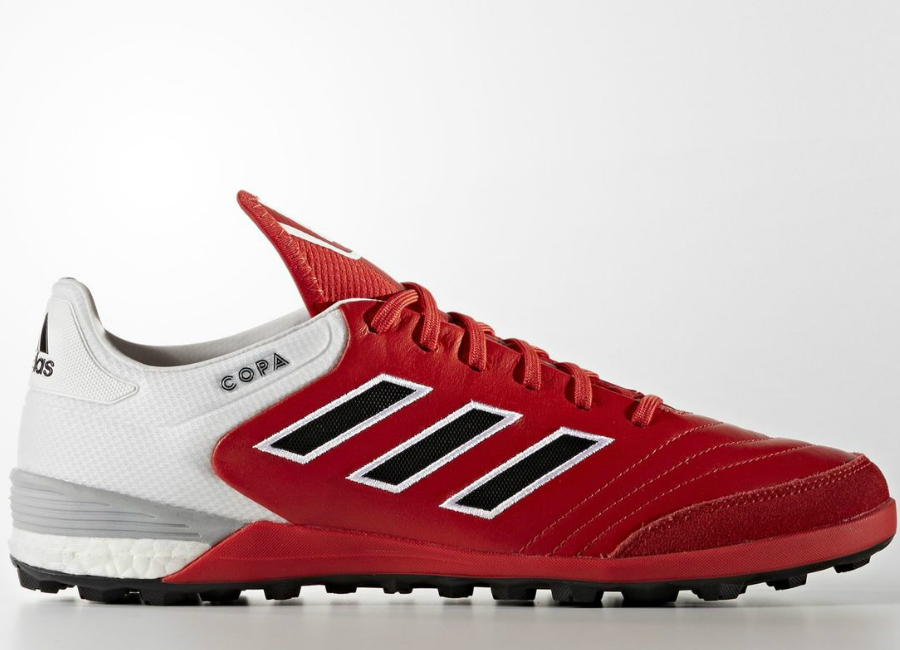 Red Soccer Turf Shoes