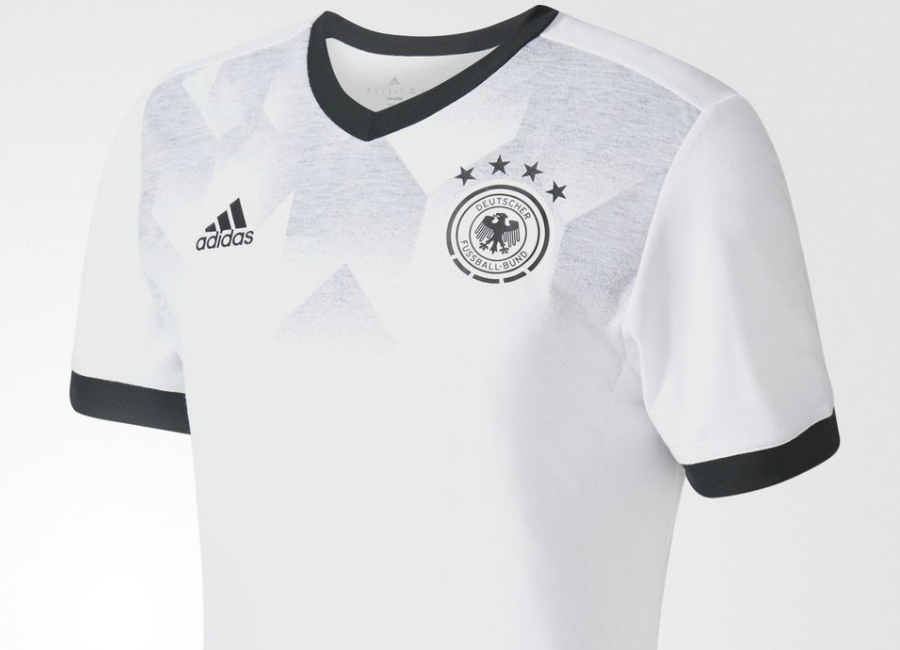116692b8085 Adidas Germany 2017 Home Pre-Match Jersey - White   Black ...