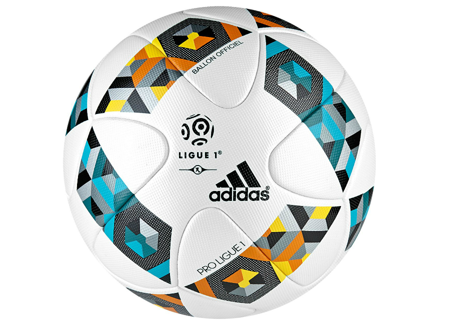 Adidas Ligue 1 Match Ball White Blue