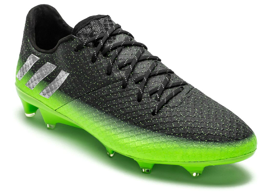 Adidas Messi 16 1 Fg Ag Space Dust Dark Grey Silver Metallic Solar Green