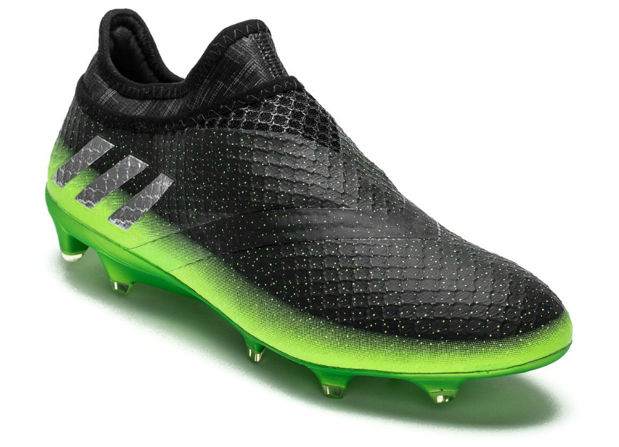 Adidas Messi 16 Pureagility Fg Ag Space Dust Dark Grey Silver Metallic Solar Green