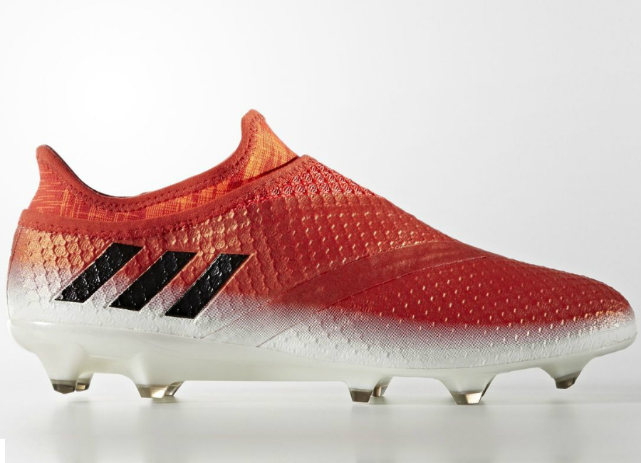 Adidas Messi 16 Pureagility Firm Ground Boots Footwear White Core Black Red