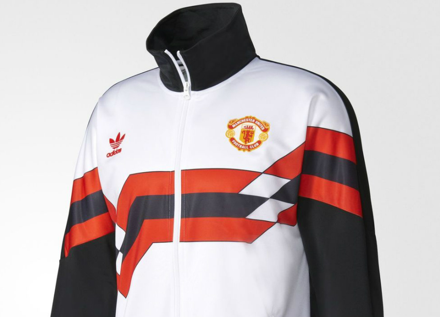 reputable site c74b1 e70ee Adidas Originals Manchester United FC 1988 Track Jacket ...