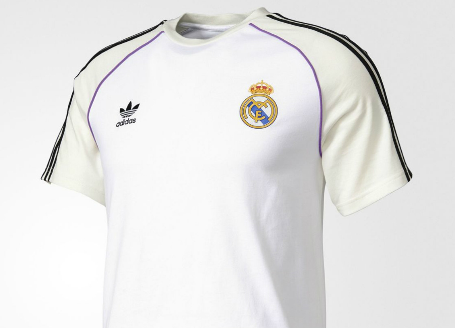 Adidas Originals Real Madrid Jersey White Off White