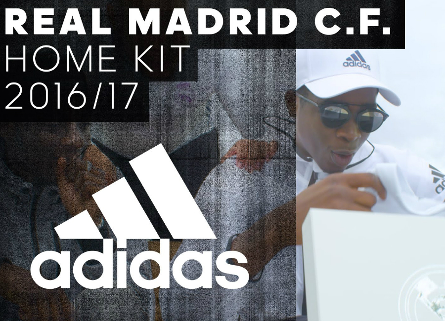 Adidas Real Madrid 2016-2017 Kit Delivery