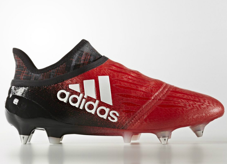 Adidas X 16 Purechaos Firm Ground Boots Red Footwear White Core Black