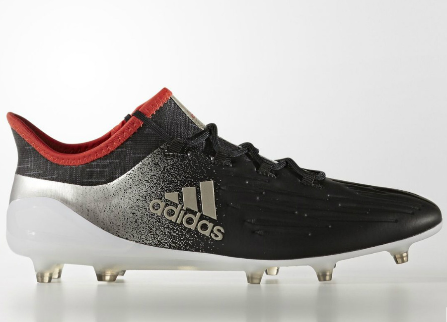 Adidas X 17 1 Firm Ground Boots Core Black Platin Metallic Core Red