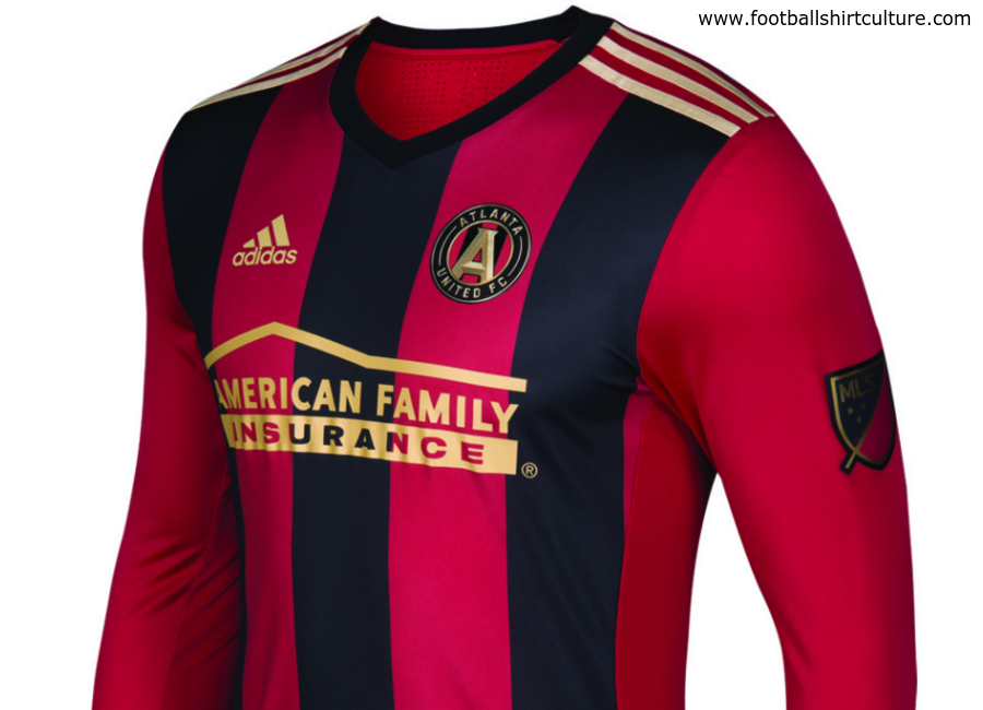 pretty nice ea5bb 18202 Atlanta United 2017 Adidas Home Kit | 16/17 Kits | Football ...