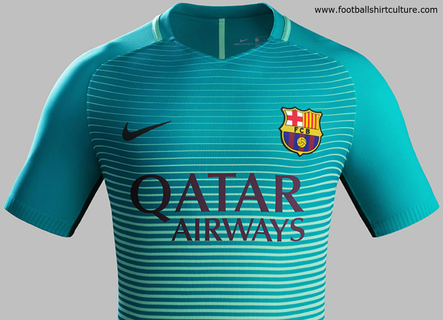 Barcelona 16 17 Nike Third Kit
