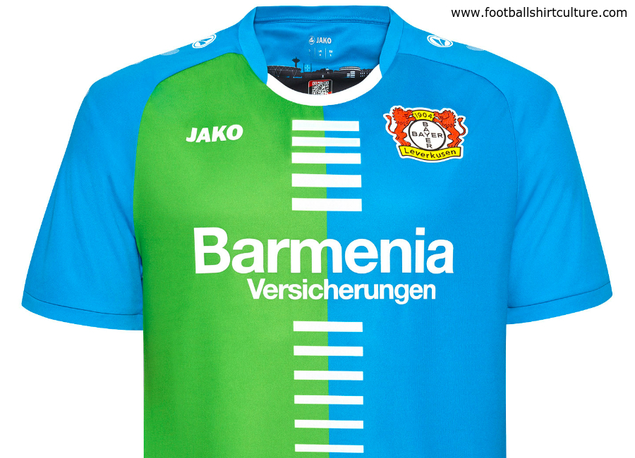 Bayer 04 Leverkusen 2016 17 Jako Bayer Edition Fourth Kit