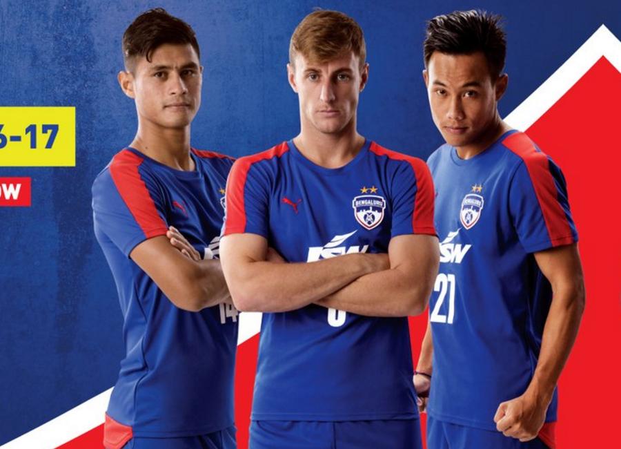 c086f204a Bengaluru FC 2016-17 Puma Home Kit