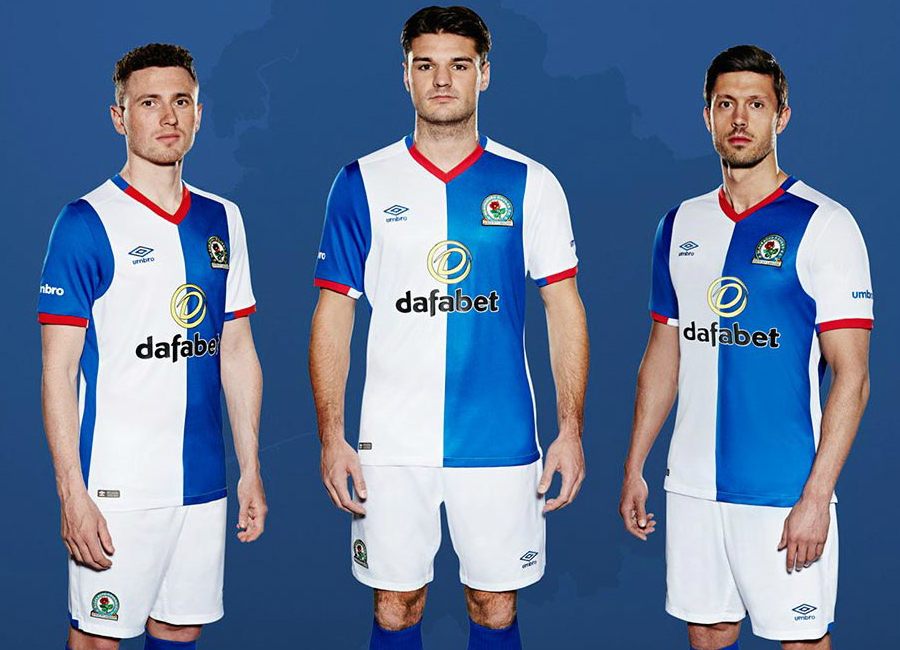 Blackburn Rovers 2016-17 Home Kit Photoshoot - Behind the Scenes