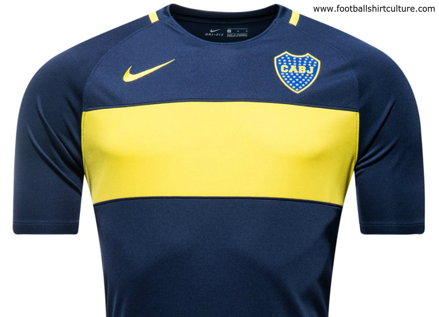 Boca Juniors 2016 17 Nike Home Shirt